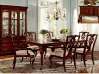 Absolutely beautiful traditional Chippendale dining