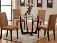 brand new from dealer. Set includes table and 4 parsons