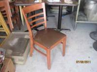 Dining Room Chairs - $30 each  or email with questions