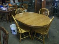 These chairs are in excellent shape with new