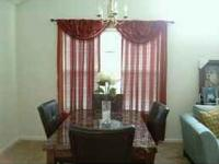 Ashley furniture dining table and 4 chairs in great