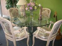 New Dining Room Set, Table, 4 chairs, Brand New! The