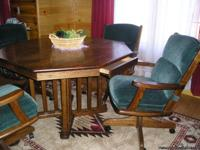 ?]   Dining room set - $500 (Sanford, MI