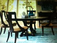 Dining Room Table 6 chairs & & Server in exceptional