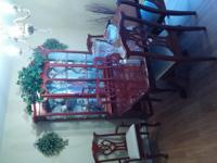 Type:Dining Room SELLING MY DINING ROOM SET. 6 CHAIRS,