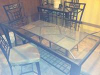 Formal Dining room set from Raymour and Flanigan. Set