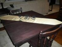 i have for sale dining room/ kitchen table 46 wide by