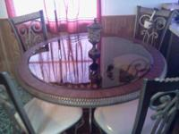 here is this beautiful dining room table that seats