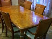 Dining Room Table And 6 Captains Chairs. I Would Also