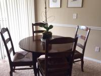 Type:Dining Room Beautiful solid oak with cane seats.