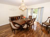 NEW Dining Room Table with 8 chairs and buffet, I