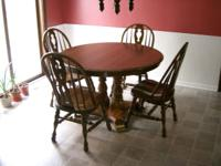 Cochrane Furniture Company. Glen-Oak Dining Room Table