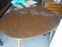 I have a new oak table for sale. We have only had it a