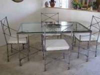 ***Price Reduced*** Gorgeous wrought iron Pier 1 Dining