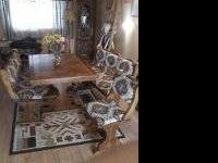 Five-piece Southwest Dining or Kitchen set. It can sit