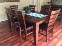 Beautiful 7 Pc Rectangle Dining Room Casual dining