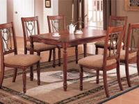 Rare Stickley dining set in cherry with all the labels