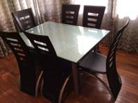 This dining set served us well, now we're remodeling.