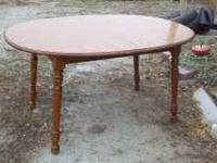 40x60 oblong dining table. Minimal scratches to top.