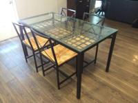 This is a beautiful dining table from IKEA and is in