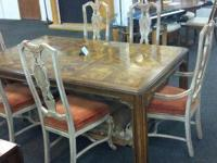 There are 2 new dining tables in this week. The first