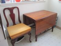 Have for sale a nice wooden dining table. Made by