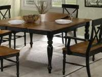 We have one each of these tables in our clearance