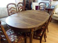 We have an 10 Piece Dining Room Set for sale from a