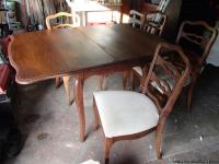 I have a nice dining table, french provincial style