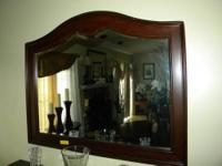 Wooden Framed Mirror $60.00 Besides having a few