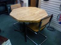 This is a dinning room table with chairs plz call  //