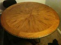 Great looking round dinning table for sale very cheap