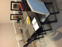 Well maintained clean Crate Barrel dinning table/ chair