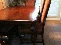 Pulaski Dining Room set like new, lightly used. Do not