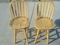 I have these 2 chairs for sale that are still in good