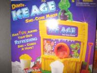 Dino themed sno-cone maker, like new $8 If interested