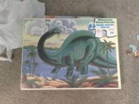 Heavy duty dino puzzle all 63 huge sturdy pieces there