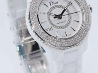 This is a Dior, VIII White Ceramic CD1235E5C001