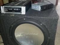 "For sale I have here a Directed Sx 15"" sub-woofer and"