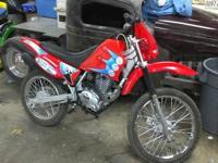 I have a 150cc Dirt bike I got in on a trade and node