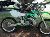 I HAVE A 1998 MODEL KAWASAKI DIRT BIKE FOR SELL.. IT