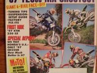 postage DIRT BIKE, March 1989, Full Cover, 125