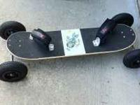 Barely used Ground Industries mountain board/dirt