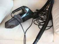 We have a hand held dirt devil vacum for sale as we are