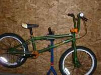 GT Bump DJ/Park Bike, good condition. Chromoly frame