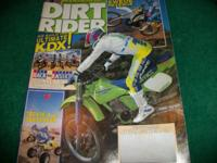 Dirt Rider, August 1987, An ATK for XR's Only! Husky
