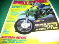 Dirt rider, January 1991,Copper wins, but was it fair?