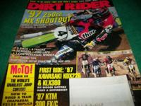 DIRT RIDER publication, February 1997, What to do when