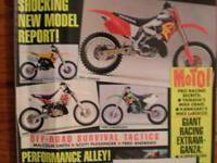 DIRT RIDER magazine,October 2000, new product of the