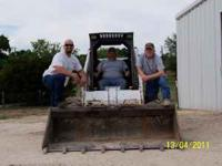 Offering skid loader services from Lampasas to